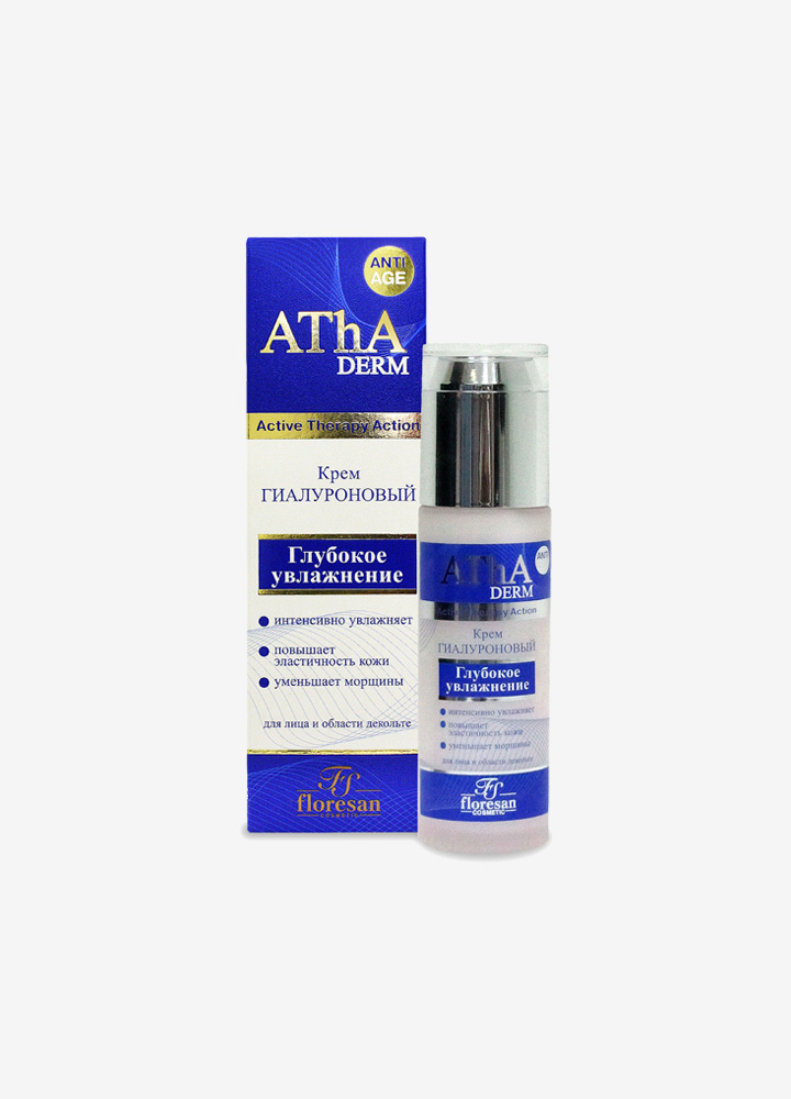AThA Deep Moisturizing Face and Décolleté Cream with Hyaluronic Acid