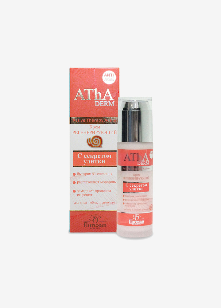 AThA Regenerating Face Cream with Snail Mucus