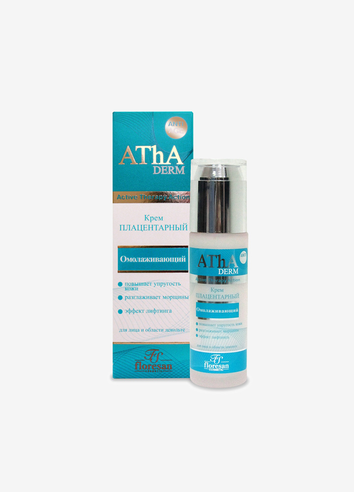 AThA Rejuvenating Face Cream with Plant Placenta
