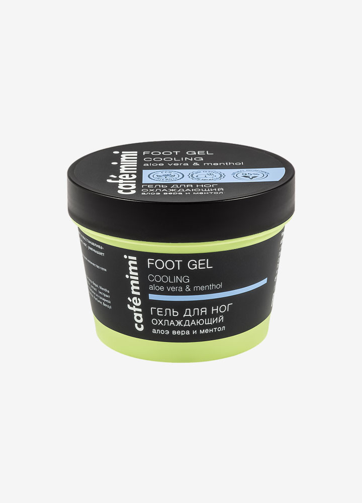 Cooling Foot Gel with Aloe Vera and Menthol