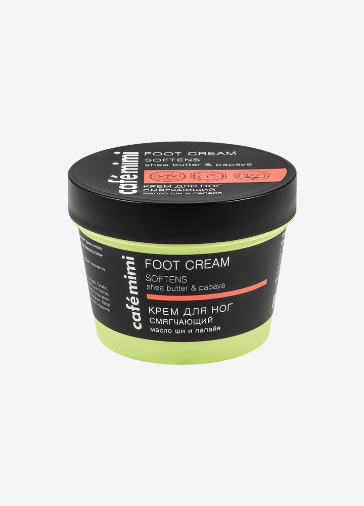 Softening Foot Cream with Shea Butter and Papaya