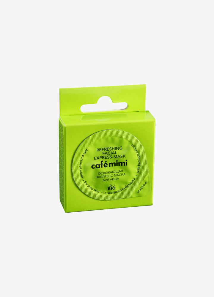 Refreshing Face Express-Mask with Bamboo Extract