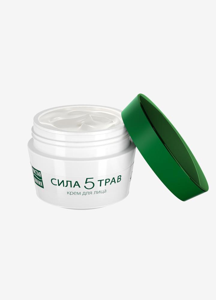 Power of 5 Herbs Nourishing Face Cream