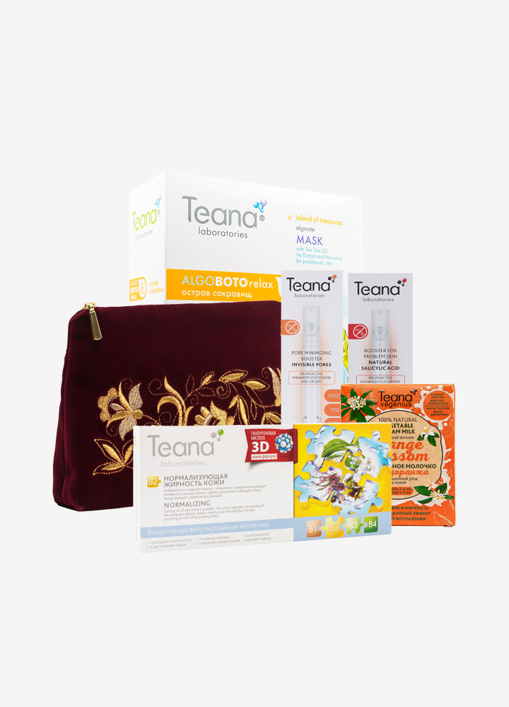 Teana Oil & Acne Control Skin Care Set