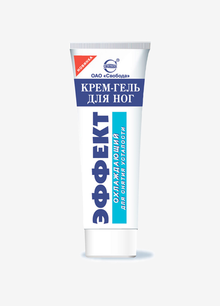 """Effect"" Cooling Foot Cream-Gel"