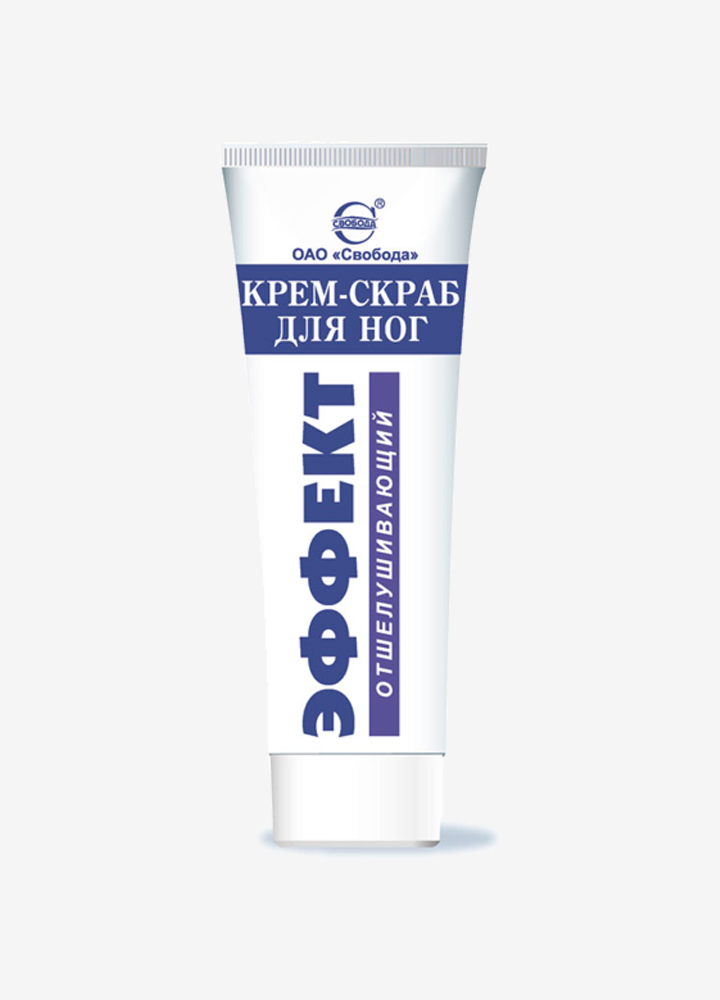"""Effect"" Exfoliating Foot Cream-Scrub"