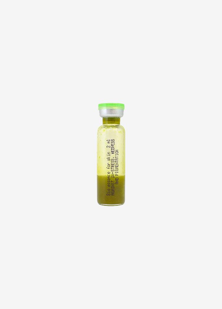 Against UV-Stress, Redness and Pigmentation Bio-Essence