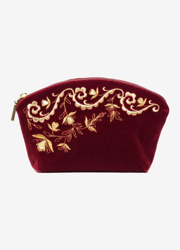 """""""Nefertiti"""" Velvet Cosmetics Bag"""
