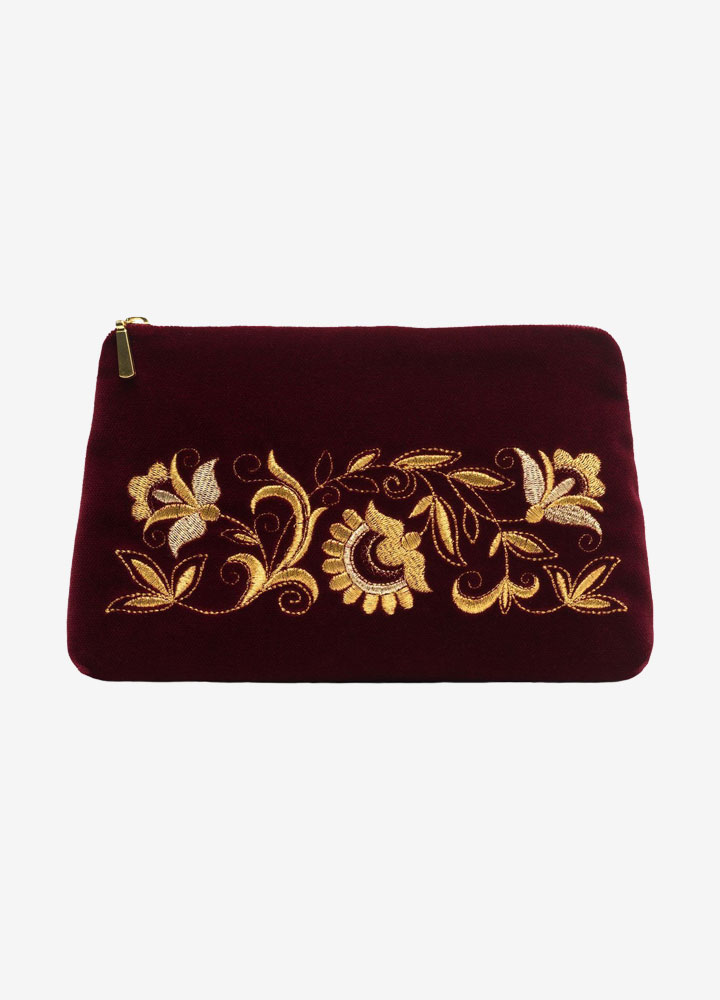 """The Dreams"" Velvet Cosmetics Bag"