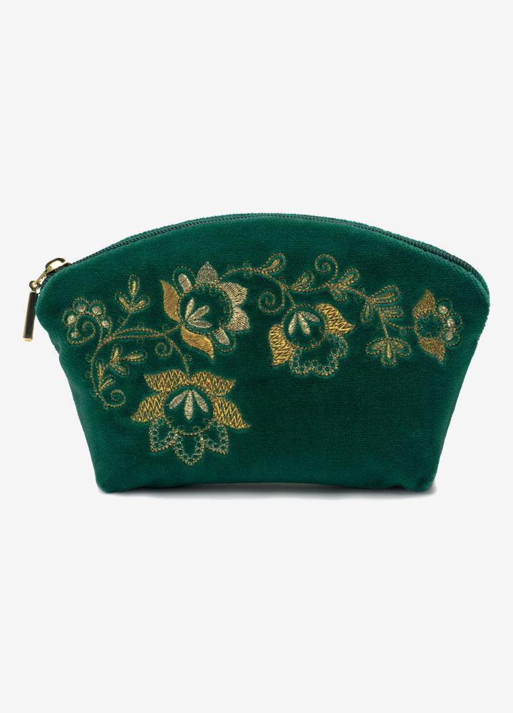 """""""The Spring Mood"""" Velvet Cosmetics Bag"""