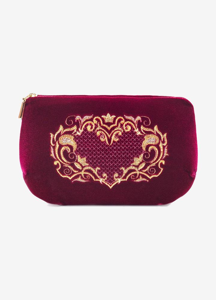 """Victoria"" Velvet Cosmetics Bag"
